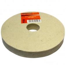 Войлочный полировальный круг Orientcraft войлок 150х10х6 мм