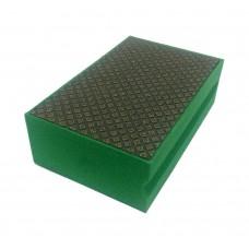 Губка алмазная Norton 90X55 SNAKE GREEN 60