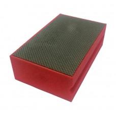 Губка алмазная Norton 90X55 SNAKE RED 200