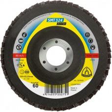 Плоский лепестковый круг Klingspor SMT 324 плоский 125мм