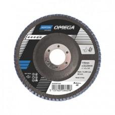 Лепестковые круги Norton Omega 125x22
