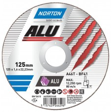 Отрезной круг по алюминию Norton Alu