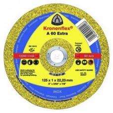 Тонкие отрезные круги Kronenflex  A 60 Extra 125мм (1мм)