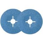 Фибровые круги 581C с цирконатом алюминия 125мм