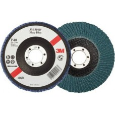Универсальные лепестковые круги 3М 566А с цирконатом 125мм
