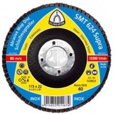 Универсальный лепестковый круг Klingspor SMT 624 115мм