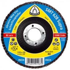 Лепестковые круги профессиональная серий SMT628 125мм прямой