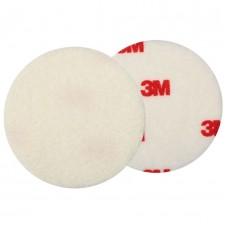 Фетровый полировальный круг 3M жесткий с красным логотипоп