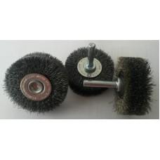 Щетка металлическая на дрель из нержавеющей стали