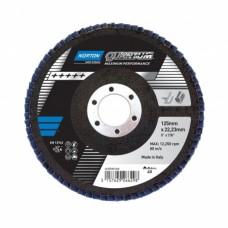 Лепестковый диск Norton Quantum 125x22