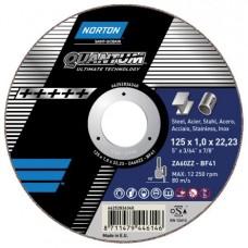 Отрезной круг NV41 Norton Quantum 125мм