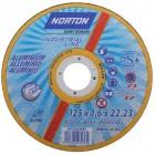Отрезной круг по алюминию Norton 125мм