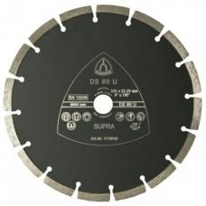 Профессиональный алмазный отрезной круг DS 80 U Klingspor Supra